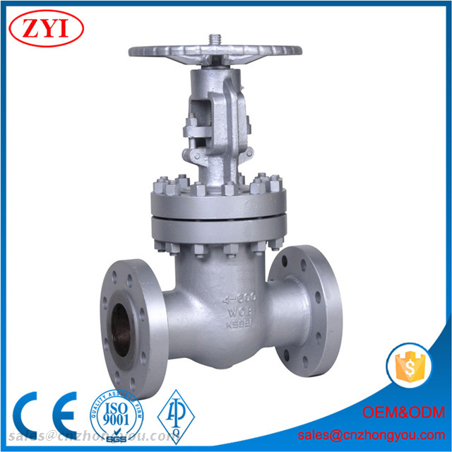 China Manufacturer Bolted Bonnet Flexible Wedge Rising Stem Cast Steel ASTM A216 WCB Gate Valve