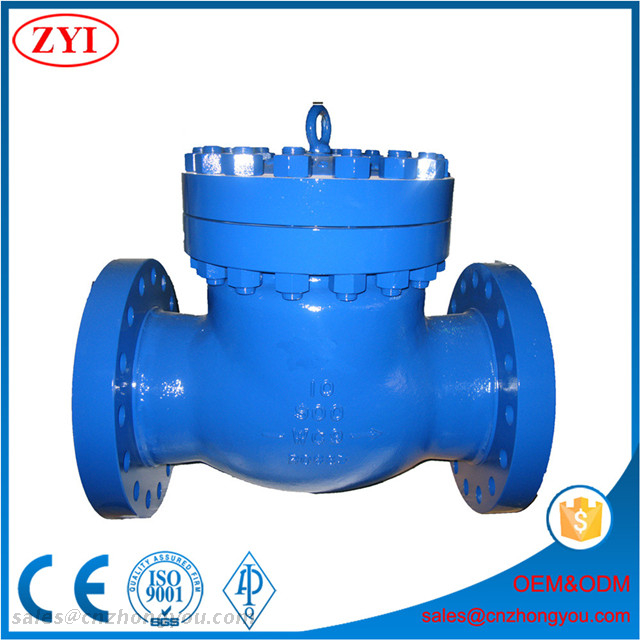 Made In China Bolted Cover Stainless Steel ASTM A351 CF8M Swing Check Valve