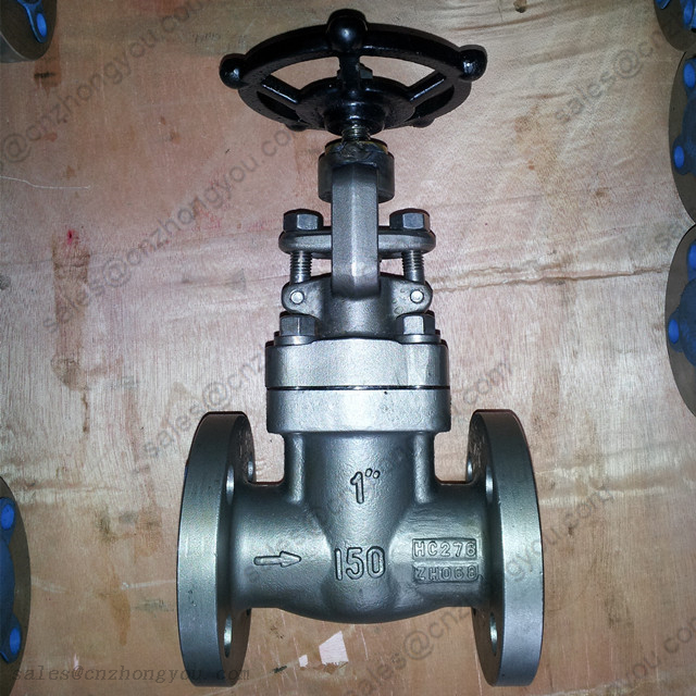 GLOBE VALVE 1'' 150LB, ASME HC276 Body, RF Flanged Ends