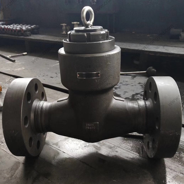 Pressure Seal Cover Piston Check Valve, DN65 PN420, ASTM A105 Body, ASTM A182 F316 Trim, RTJ